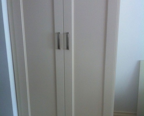 wardrobe made by GR Property work example