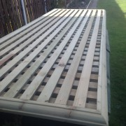 Square Lattice Top Fence Cover GR Property